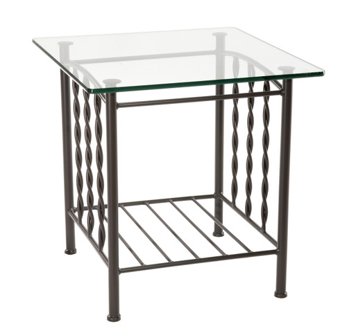 Prescott Iron Side Table