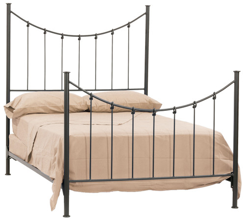 Knot Iron King Bed
