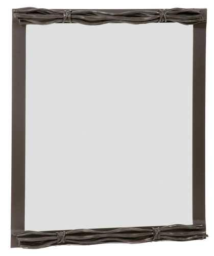 Rush Iron Wall Mirror