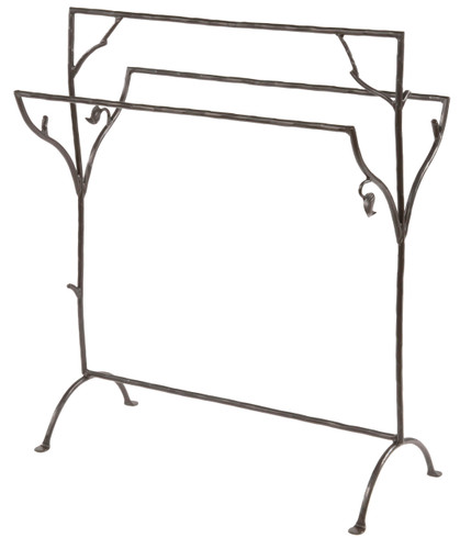 Sassafras Iron Blanket or Towel Stand