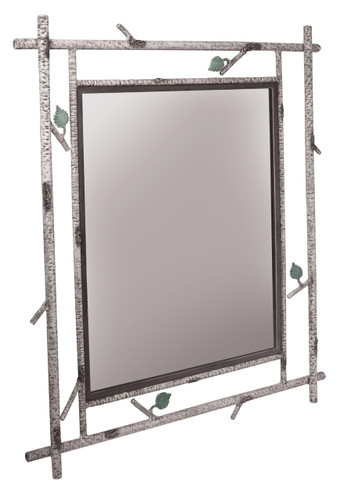 Whisper Creek Iron Wall Mirror