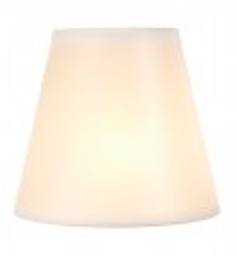 Ivory Glow Floor Lamp Shade (15 x 19 x 8.5)