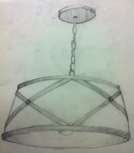 Custom Drum Pendant