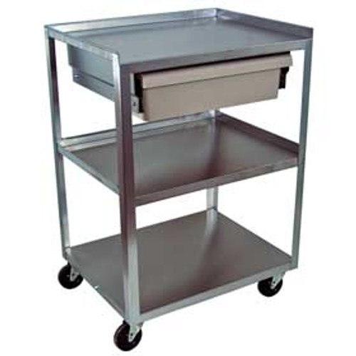 MC21ED  Stainless Cart w/ Drawer