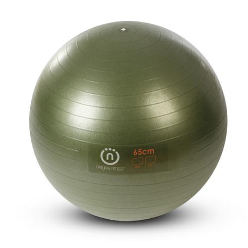 Natural Fitness Burst-Resistant Exercise Ball
