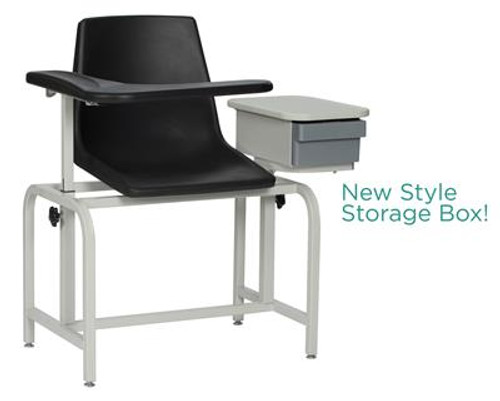 2570 Basic Blood Drawing Chair with Cabinet