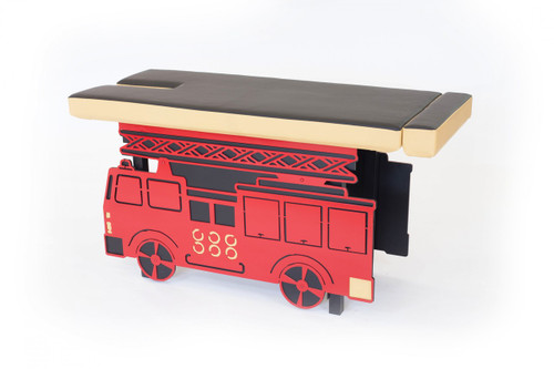 Firetruck Table, Kids Table, Kids Chiropractic Table, Childrens Table, Childrens Chiropractic Table, Childrens Chiropractic, Kids Chiropractic, Elite FireTruck Pediatric Table, Elite Pediatric table, pediatric table, pediatric tables, chiropractic pediatric table, kids adjusting tables, chiropracitc pediatric tables