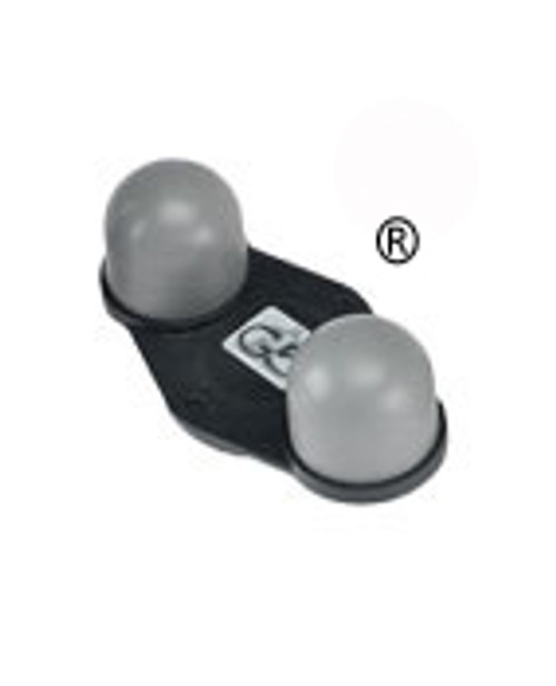 General Physiotherapy Applicator 223 - Two-Ball Firm Rubber
