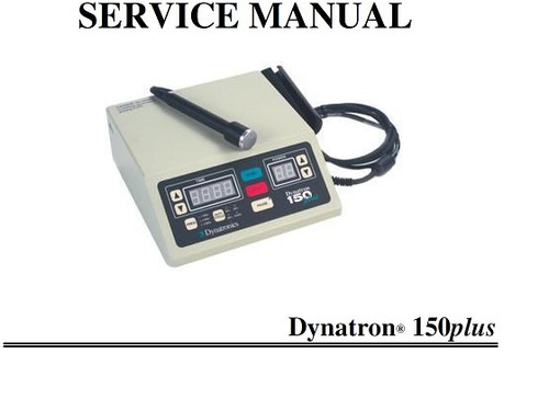 Dynatron 150 Plus Service Manual with Schematics - PDF Download