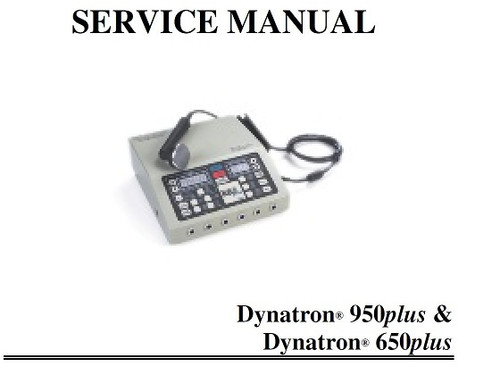Dynatron 650 Plus Service Manual with Schematics - PDF Download