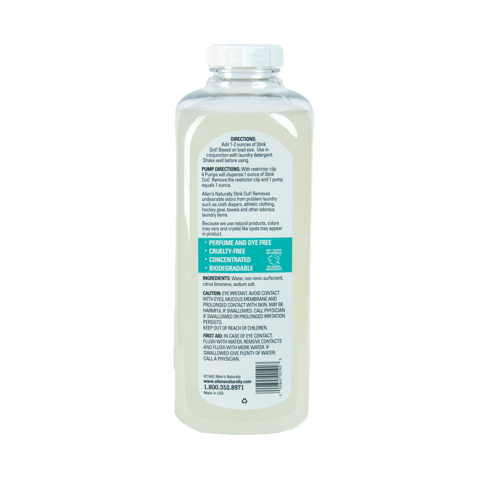 Natural Laundry Odor Remover
