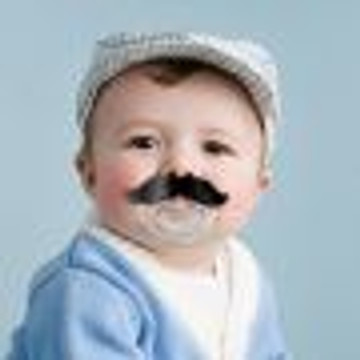 Fred CHILL, BABY Mustache Pacifier