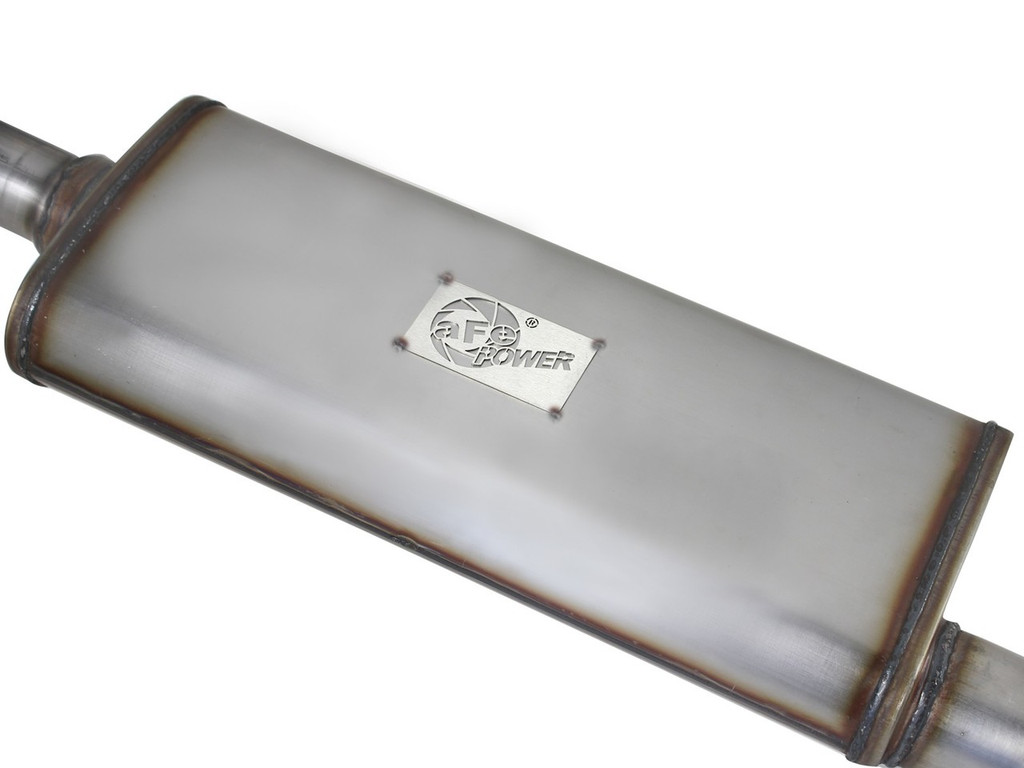 """aFe POWER 49-46231 MACH Force-Xp 2-1/2"""" 409 Stainless Steel Cat-Back Exhaust System"""