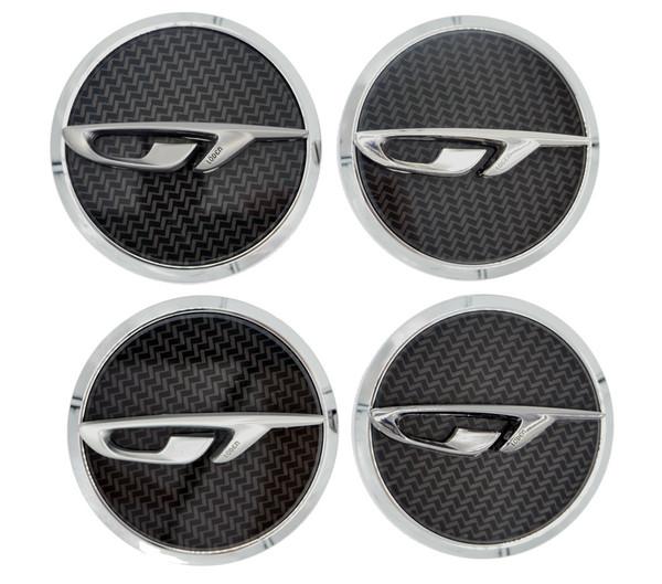 Opel GT Wheel Cap Emblems 4pc Set (4 Colors)