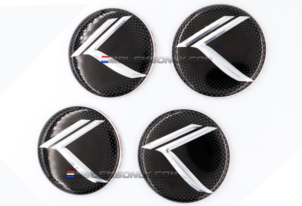 Vintage K Wheel Caps
