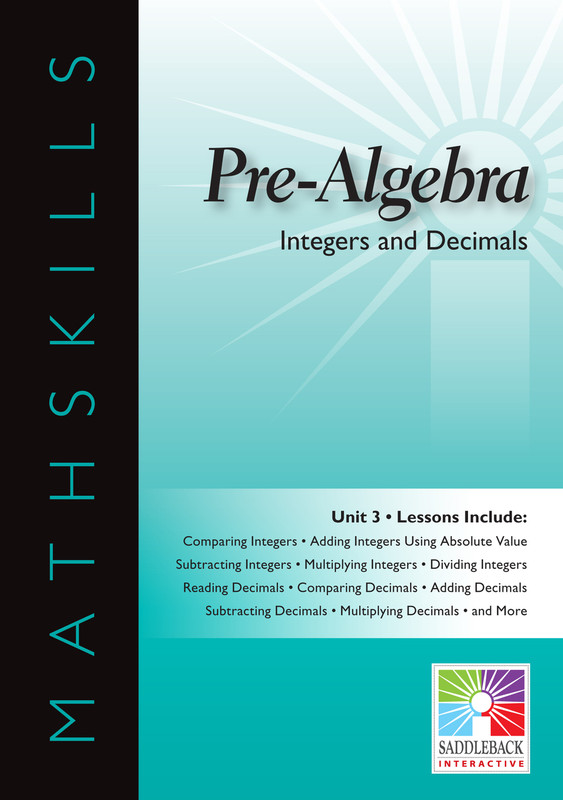 Integers & Decimals (Digital Download)