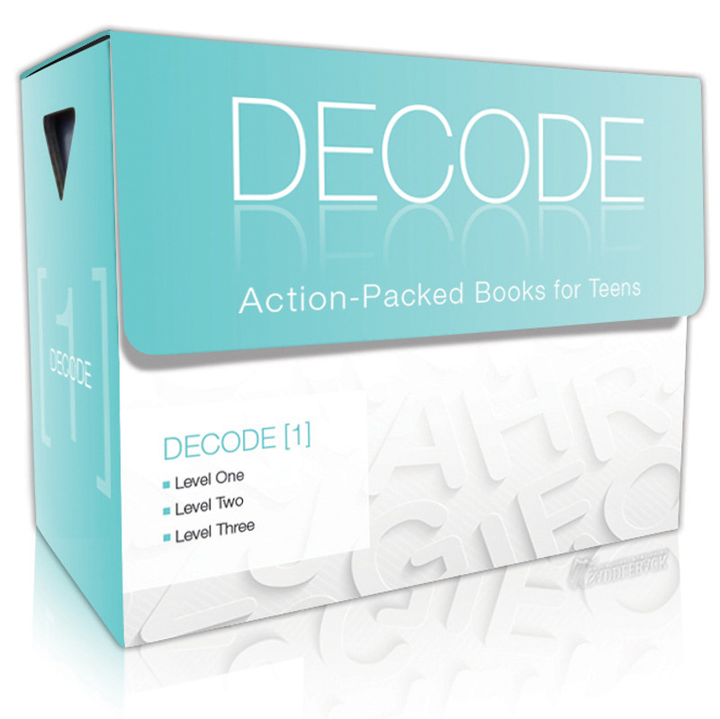 TERL Phonics: Decode [1] Boxed Set (3 each of 24 titles + TG)