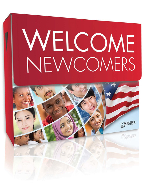 Welcome Newcomers Library (3 each of 28 titles, 140 Vocab Cards + TG)