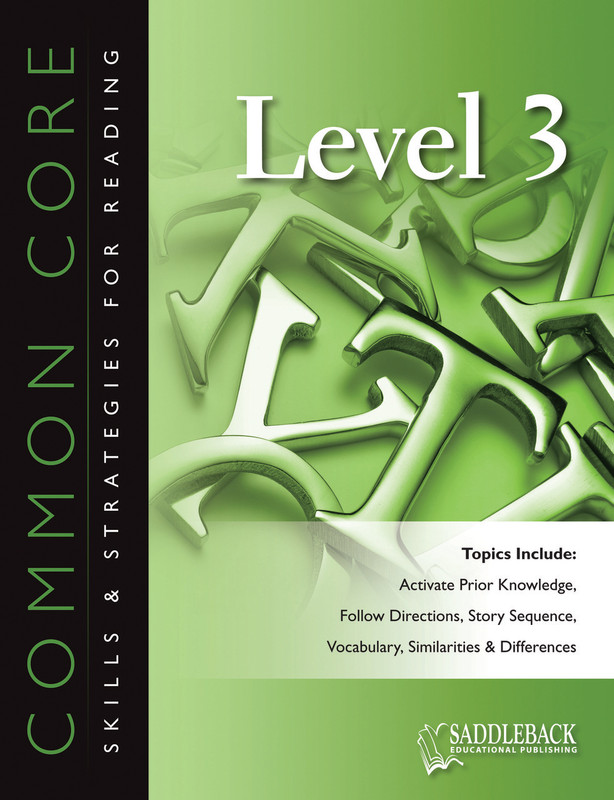 Common Core Skills & Strategies for Reading Level 3 (Digital Download)