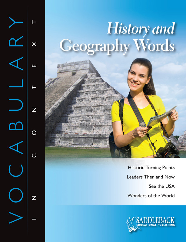 History and Geography Words (Digital Download)