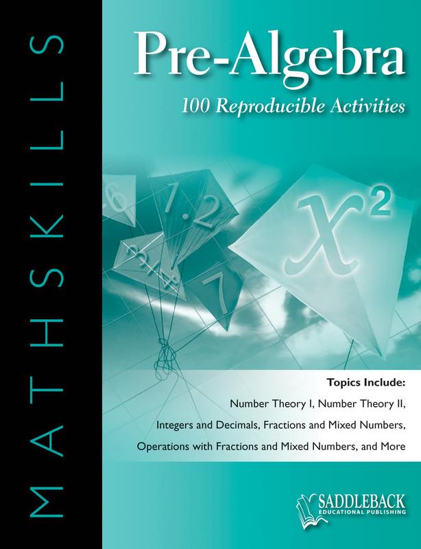 MathSkills Pre-Algebra (Digital Download)