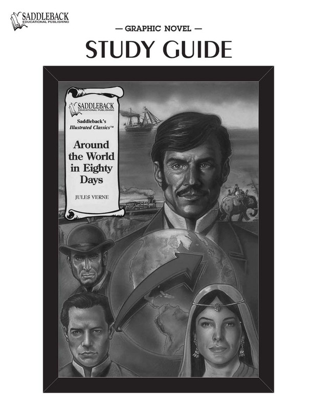 Around the World in 80 Days Graphic Novel Study Guide (Digital Download)