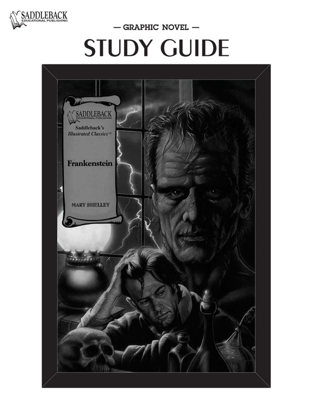 Frankenstein Graphic Novel Study Guide (Digital Download)
