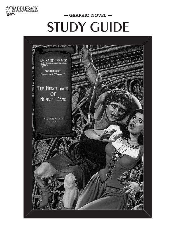 The Hunchback of Notre Dame Graphic Novel Study Guide (Digital Download)