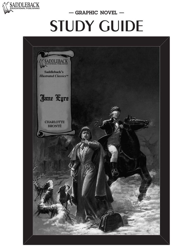 Jane Eyre Graphic Novel Study Guide (Digital Download)