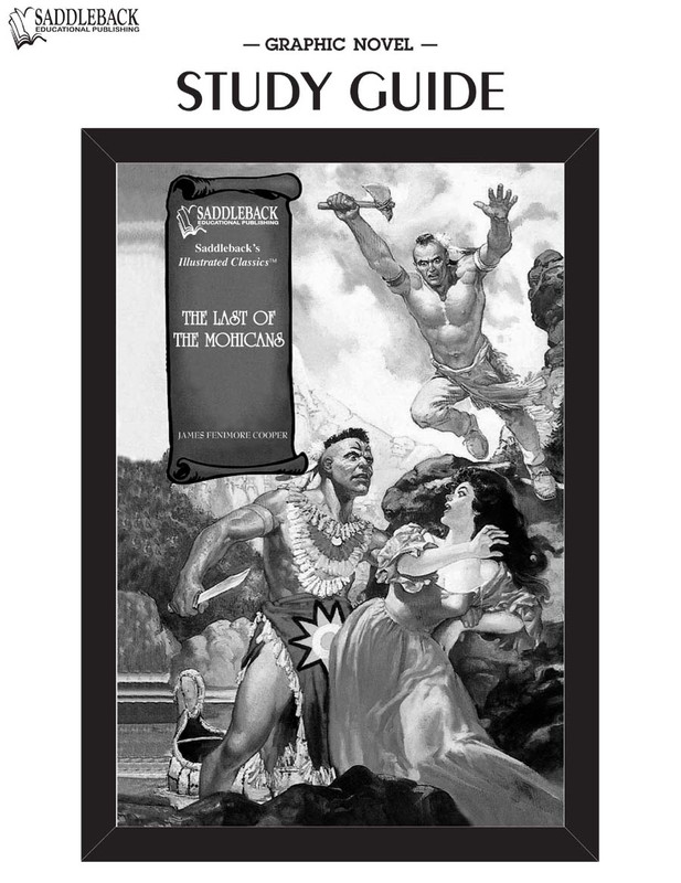 The Last of the Mohicans Graphic Novel Study Guide (Digital Download)