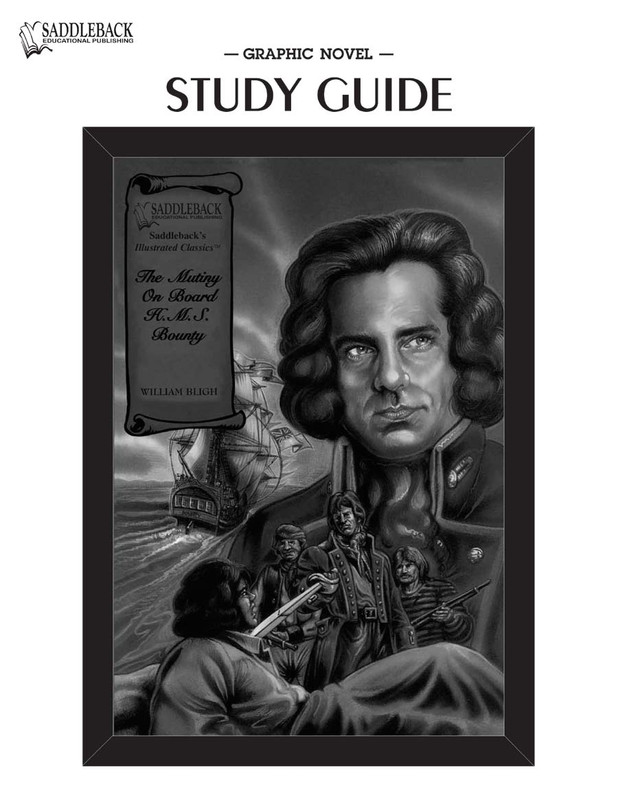 The Mutiny on Board HMS Bounty Graphic Novel Study Guide (Digital Download)