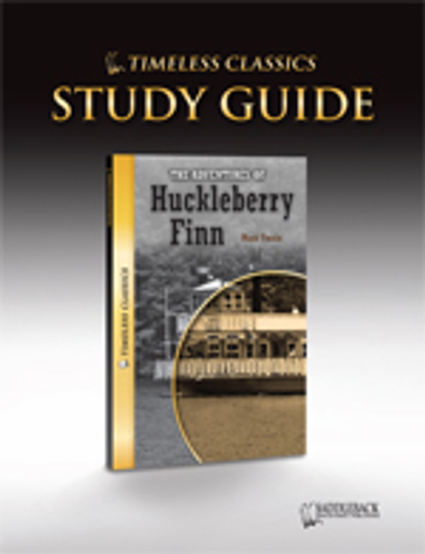 The Adventures of Huckleberry Finn Study Guide (Digital Download)