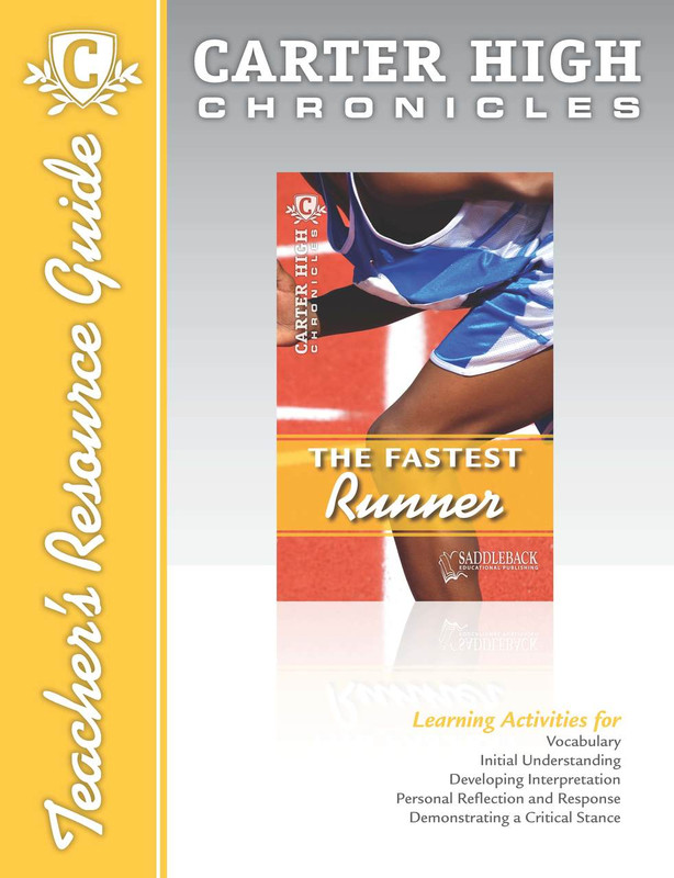 The Fastest Runner Teacher's Resource Guide (Digital Download)