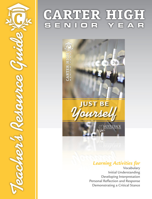 Just Be Yourself Teacher's Resource Guide (Digital Download)