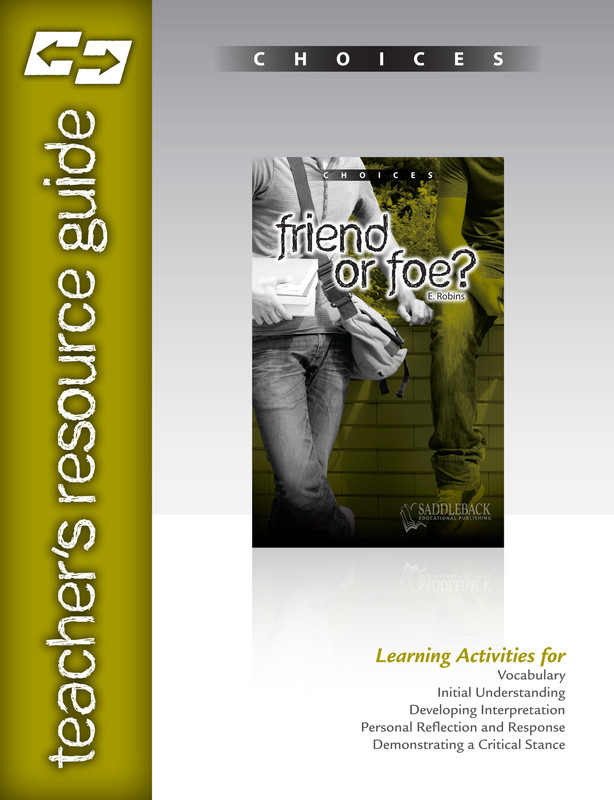 Friend or Foe? Teacher's Resource Guide(Digital Download)