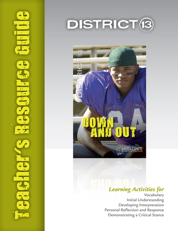 Down and Out Teacher's Resource Guide(Digital Download)