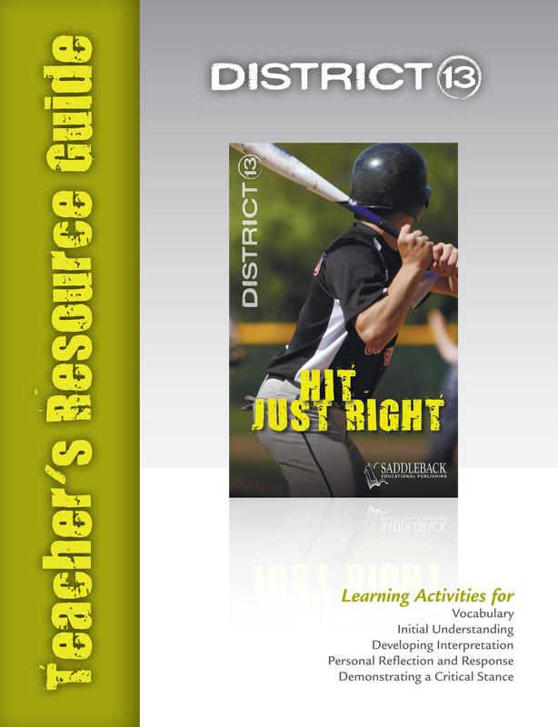 Hit Just Right Teacher's Resource Guide(Digital Download)