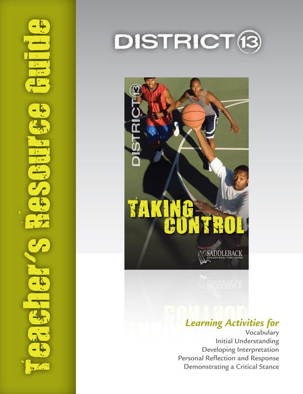 Taking Control Teacher's Resource Guide(Digital Download)