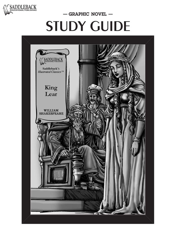 King Lear Graphic Novel Study Guide (Digital Download)