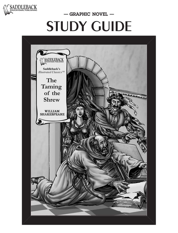 The Taming of the Shrew Graphic Novel Study Guide (Digital Download)