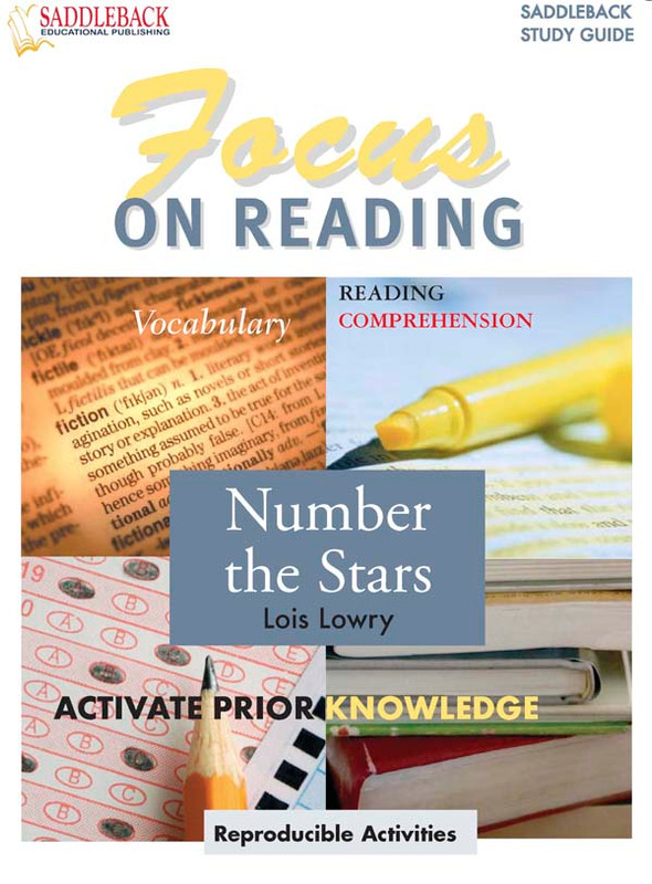 Number the Stars: Focus on Reading Guide (Digital Download)