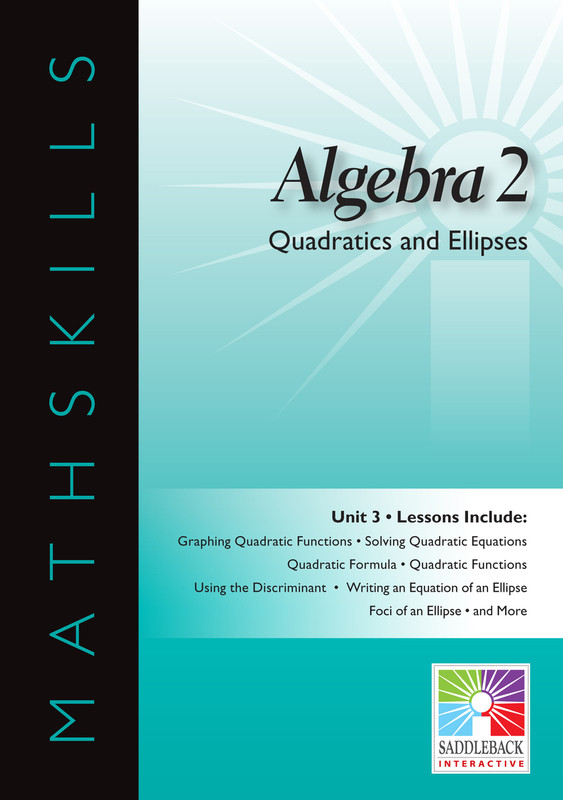 Quadratics & Ellipses(Digital Download)