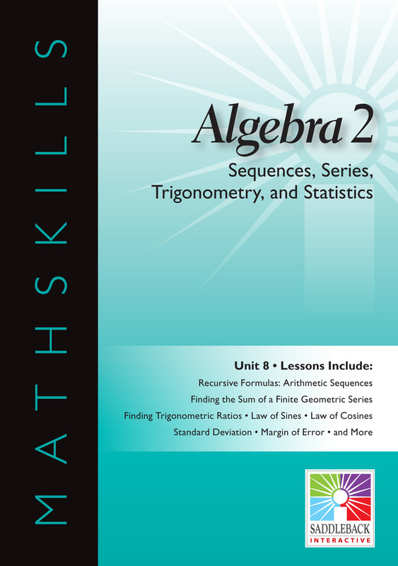 Sequences, Series, Trigonometry, & Statistics(Digital Download)