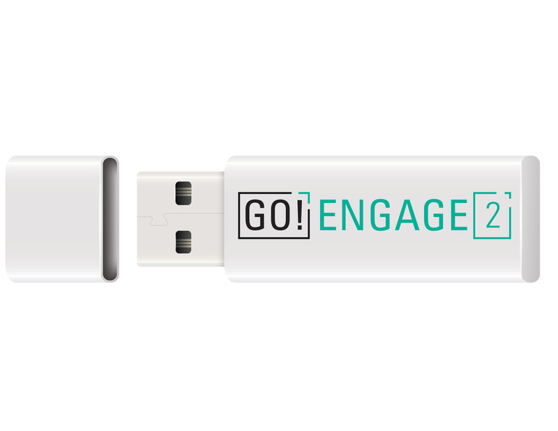 Tween Emergent Reader Libraries - GO! Engage Audiobook Set (Thumb Drive)