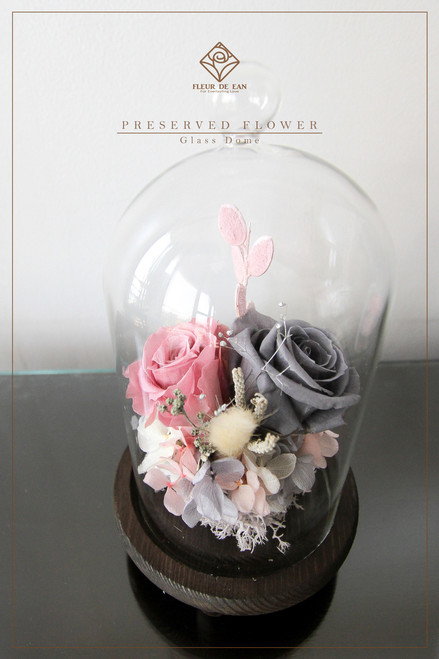 Preserved Flower Arrangement In Glass Dome How Did You Learn About Us Required