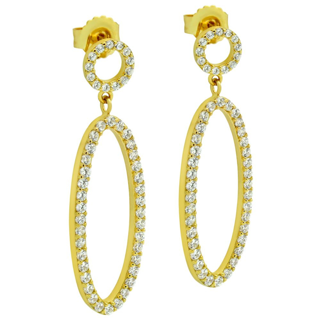 featuring diamonds graff earrings oval pair diamond a classic shape of collections with swan hooks pave cut
