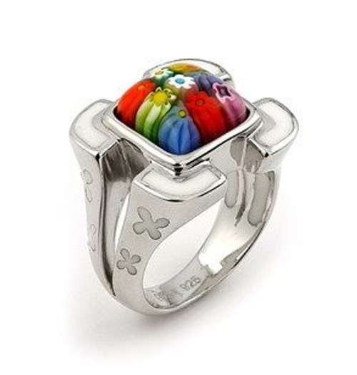MILLACRELI MULTI-COLOR SQUARE RING