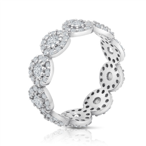 bridal zirconia square big bands item silver band cocktail cz halo solitaire cubic women licliz eternity ring sterling