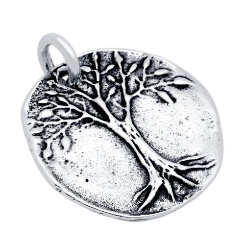 TREE OF LIFE MEDALLION CHARM