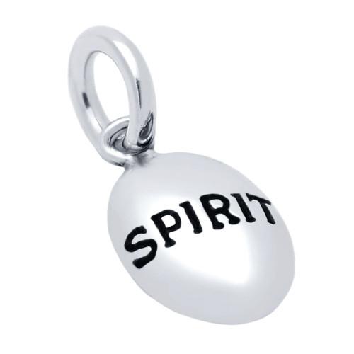"OVAL ""SPIRIT"" CHARM"